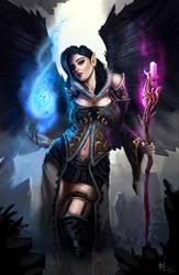 Aasimir Sorceress Kirrilidian  (Commission)