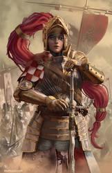 The Brass Huntress by Devtexture
