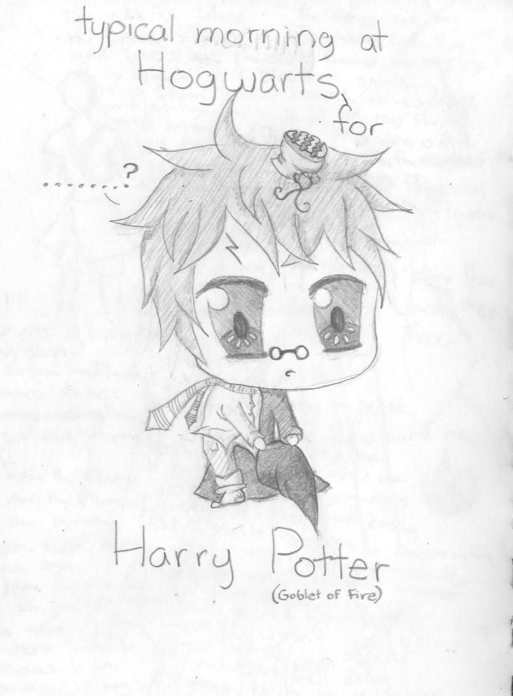 a typical day at hogwarts for harry potter by nightwing6497
