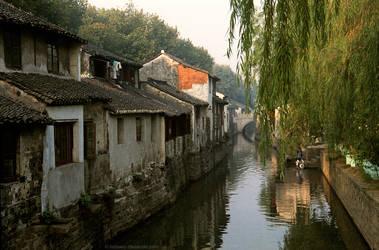 Canal, Suzhou, 1986 A