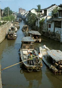 Canal, Suzhou, 1986 B