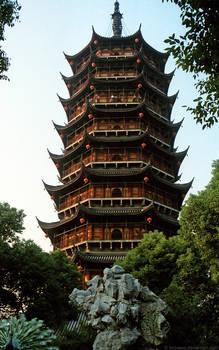 Beisi Pagoda, Suzhou 1986