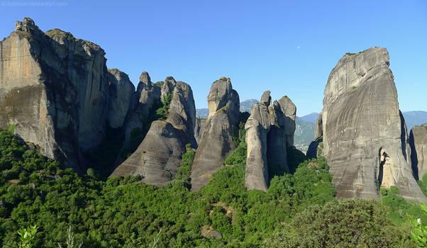 Meteora Rock Formation