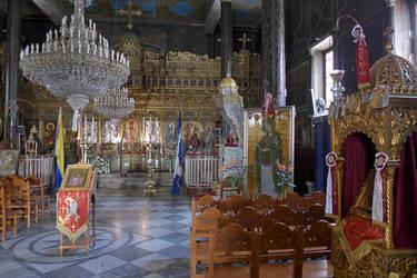 Nafplio Church Interior