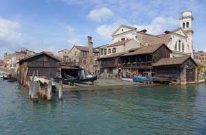 Gondola Repair Yard Venice