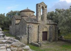 Byzantine Church on Naxos by bobswin