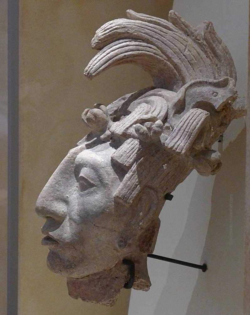 a09d96dc97 Head of Pakal - Mayan Sculpture by bobswin on DeviantArt