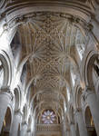 Christ Church Cathedral Ceiling, Oxford by bobswin