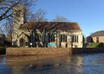 Try Praying - St Cuthberts in the Flood by bobswin