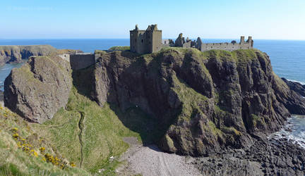 Dunnottar Castle from the South