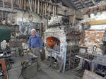 Blacksmith at Preston Park Museum by bobswin
