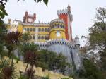 Palacio Nacional da Pena Sintra by bobswin