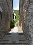 A Steep Climb Home, Gubbio by bobswin