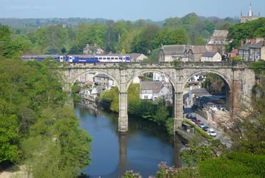 Knaresborough Viaduct from Castle