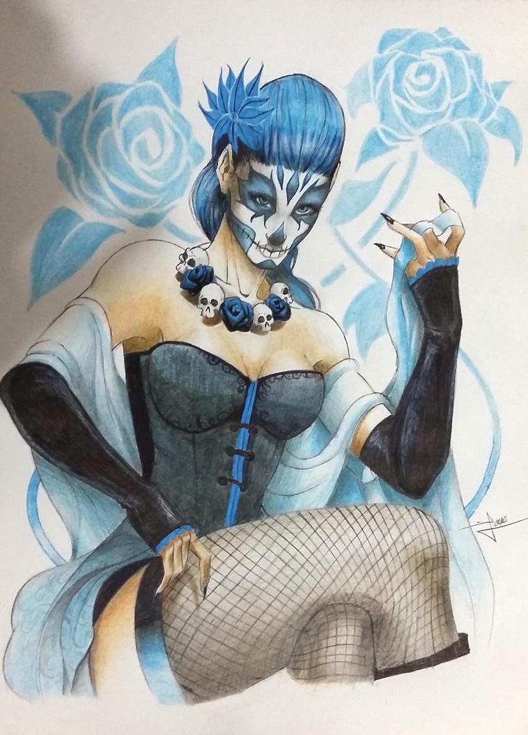 Blue Catrina by JCM30