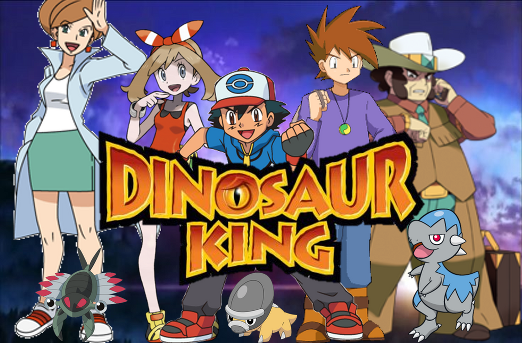 Dinosaur king by advancearcy on deviantart - Dinosaure king ...