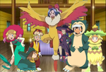 Trainers as Pokemon