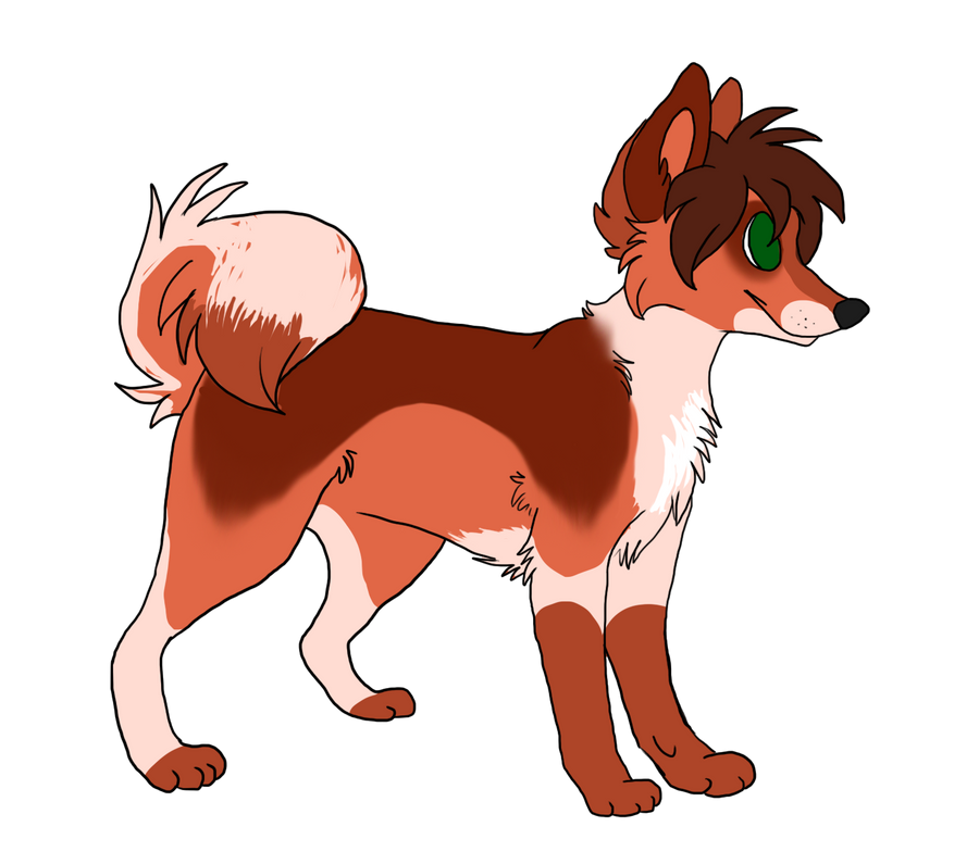 Custom dog adoptable by Dark-Pangolin