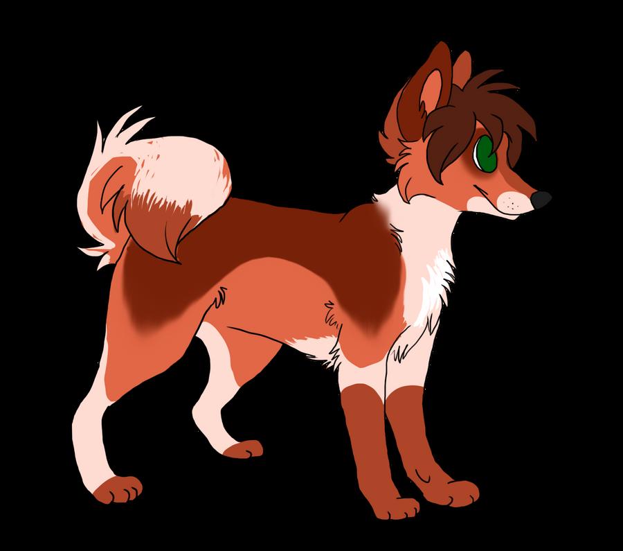Custom dog adoptable by Dark-Pangolin