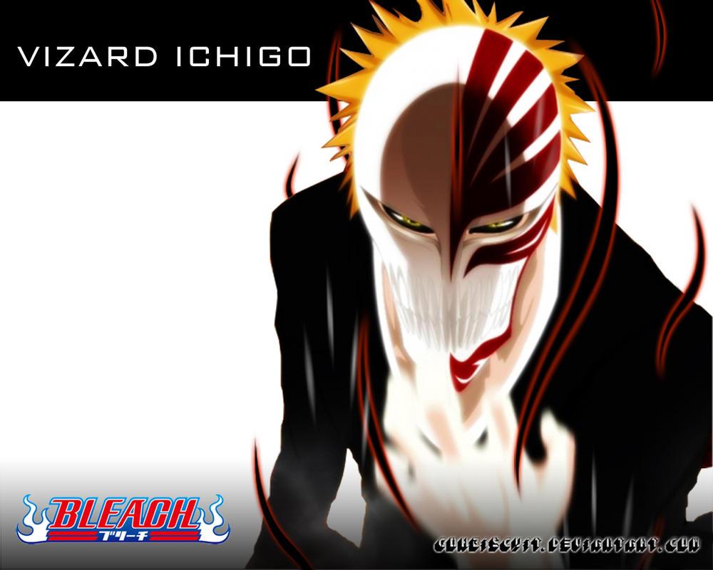 Vizard ichigo wallpaper by gohbiscuit on deviantart - Ichigo vizard mask ...