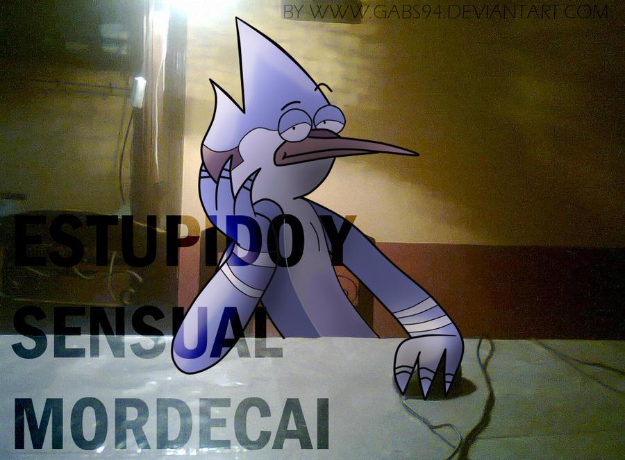 Estupido y Sensual Mordecai by gabs94