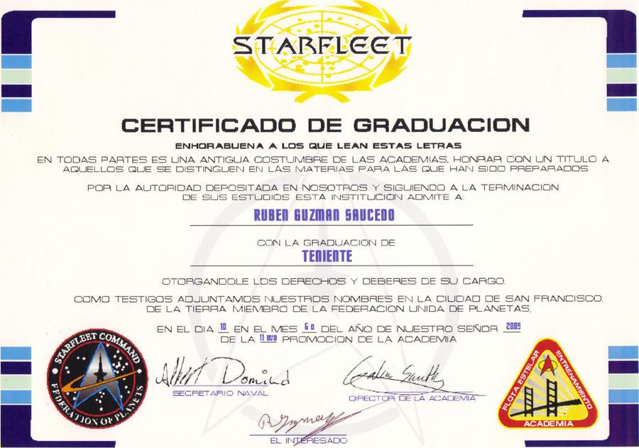star trek diploma by lavsivrack