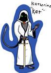 Kat concept art (hooded)