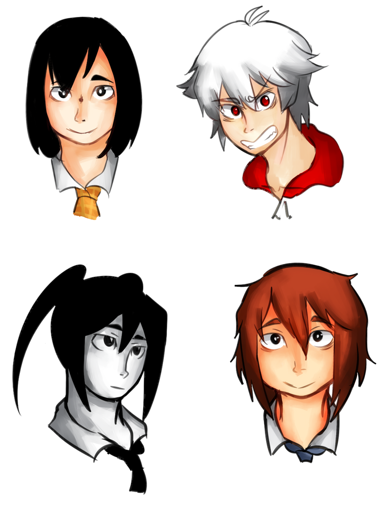 Compiled Main Characters by soyaneko