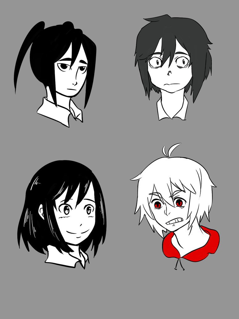 Compiled Main Characters- Style by soyaneko