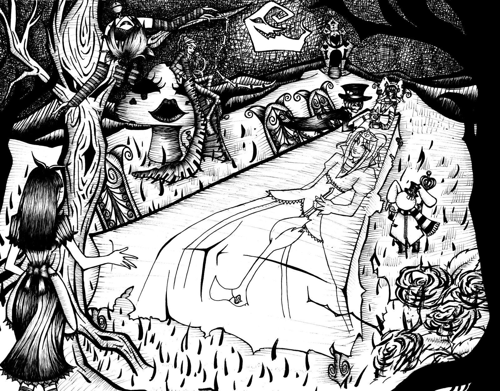 Alice by saltedeffey