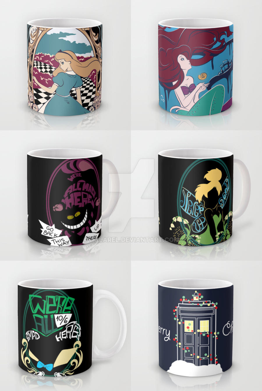Mugs on society6 by anlarel on deviantart for Websites similar to society6