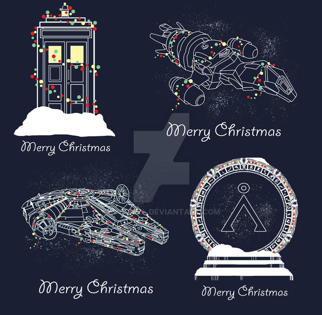 Christmas Sci-fi by Anlarel on DeviantArt