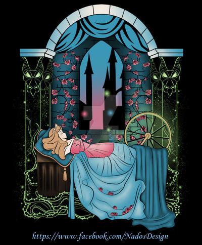 The Sleeping Rose by Anlarel