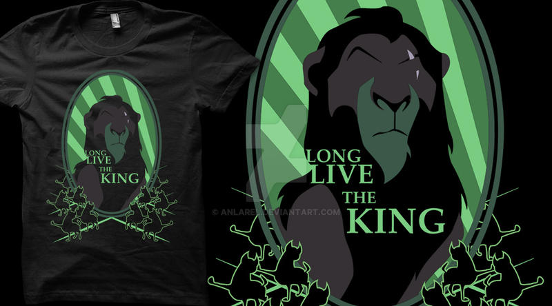 Long Live The King (T-shirt) by Anlarel