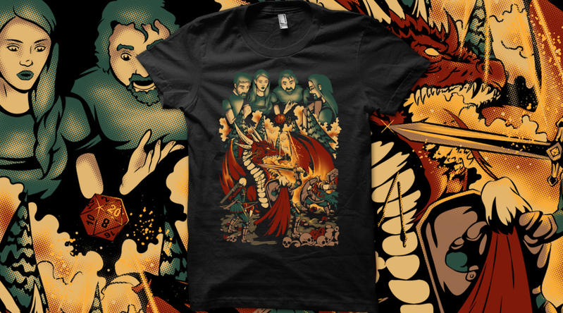 I Role You on Qwertee by Anlarel
