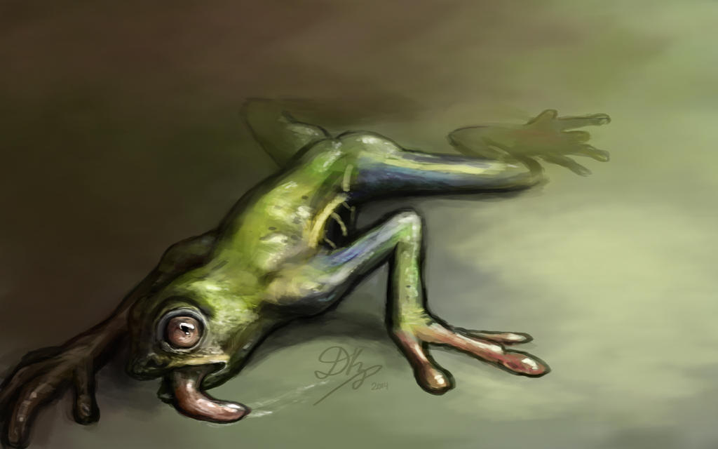 Transformation frog by dkaz on deviantart for Frog transformation
