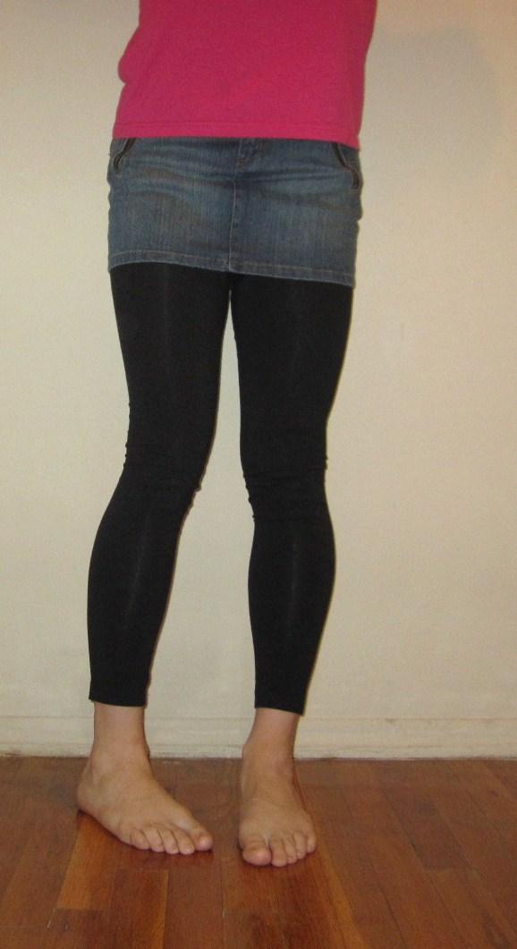 denim skirt and leggings by ccharleston81 on DeviantArt