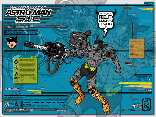 ASTRO-MAN S.I.C. by ajiraiya
