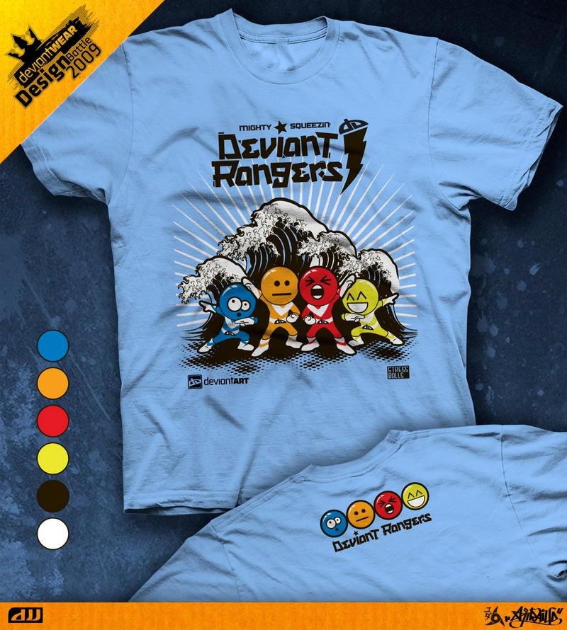 Deviant Rangers by ajiraiya