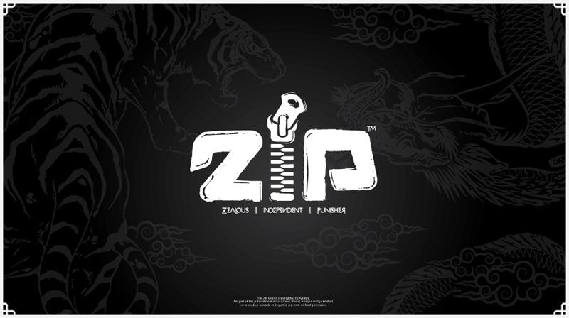 ZIP Logo by ajiraiya
