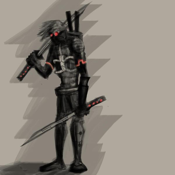 Futuristic Ninja ScreenavengerFuturistic Ninja Armor