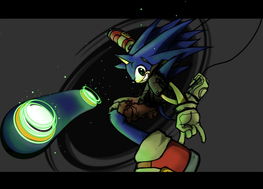 Sonic Kickflip by SHADOWPRIME