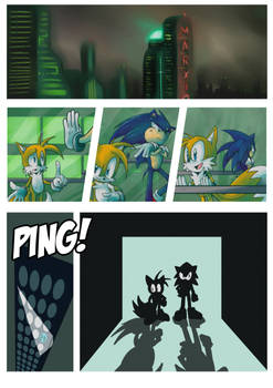 Random Sonic Comic page 1