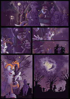 Spooks and Mirrors page 1