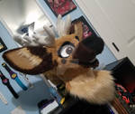 Oswald Deer Fullsuit Commission: The Head