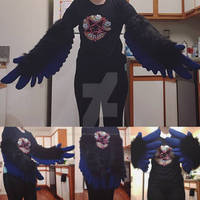 Bird Wing Armsleeves Commission