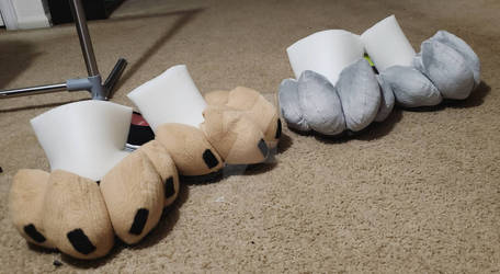 Premade Feetpaws (WILL BE FOR SALE ON ETSY!)