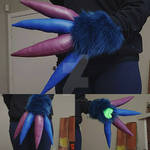 Wickerbeast Hands Commission WIP: One Hand Done by RageandRoarCustoms