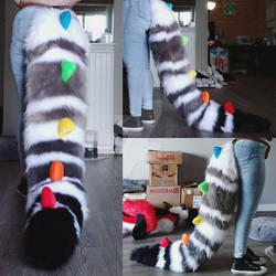 Croc/Roo/Wolf Fullsuit Commission: The Tail
