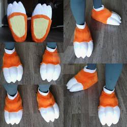 Feetpaws Commission: Dragon Feet